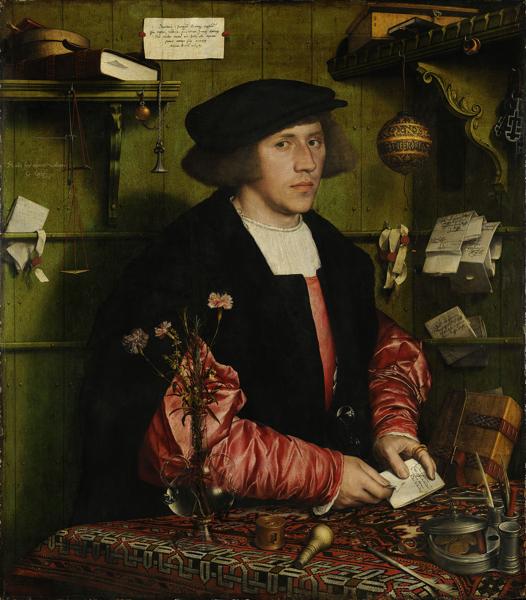 Hans Holbein der Jüngere - Der Kaufmann Georg Gisze