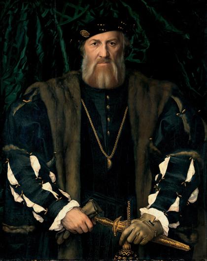 Charles de Solier, Sieur de Morette, 1534. Gemäldegalerie Alte Meister, Dresden.